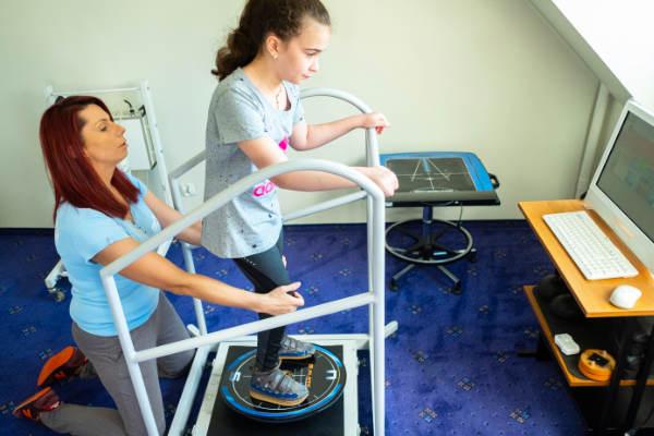 Euromed Centrum Rehabilitacji - platforma stabilometryczna